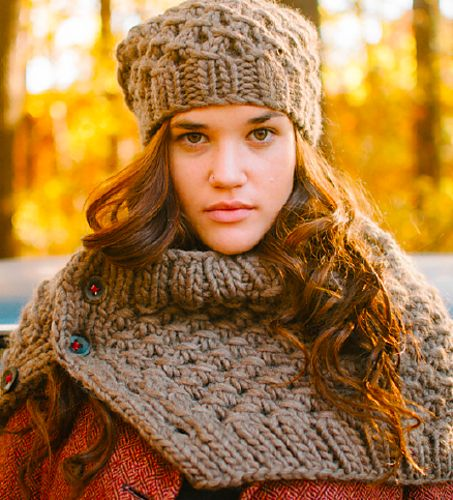 384 Best Knit Cowls Scarves Images On Pinterest Knit Cowl Knit