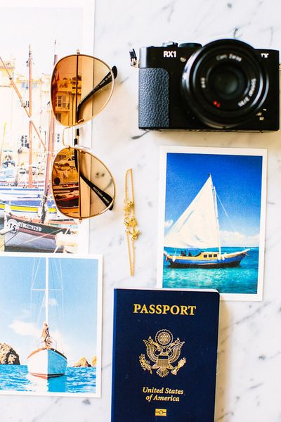travel essentials | airows.com #travel #boat #med
