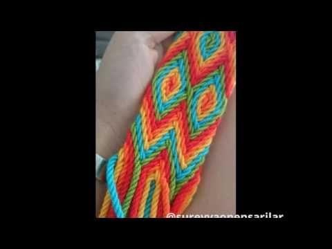 Wayuu çanta yapımı HD - YouTube