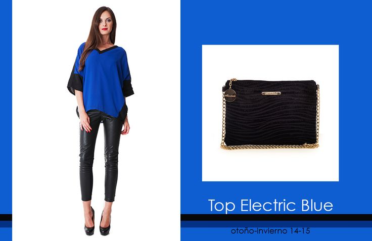 Top Electric Blue