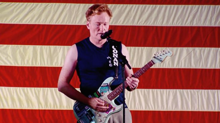 Watch Conan O'Brien Cover White Stripes' 'Seven Nation Army' for Troops #headphones #music #headphones