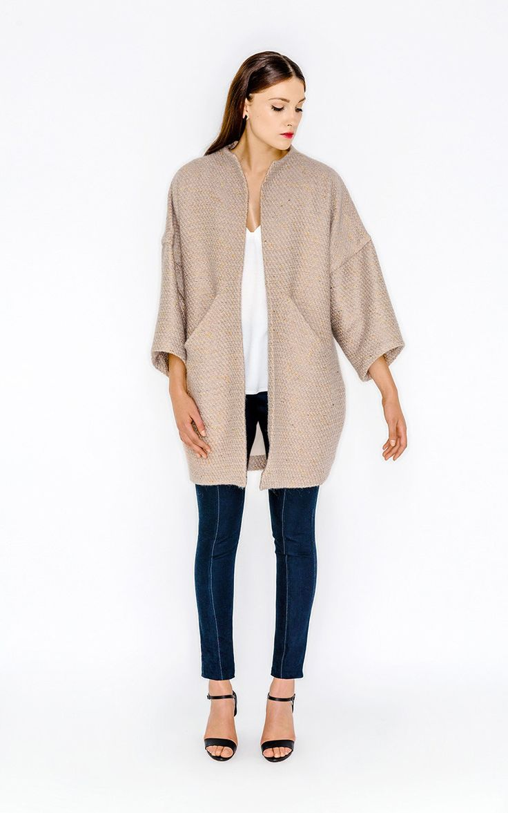 Sapporo Coat - Papercut Patterns - I'm going to need to grade this pattern down as it is too much for a shortie!