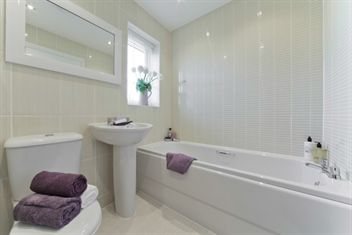 Persimmon homes bathroom Wellington