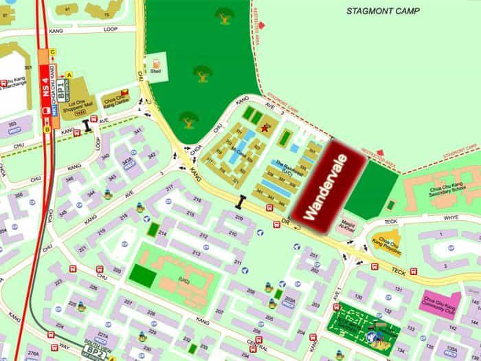 The Wandervale EC Floor Plan