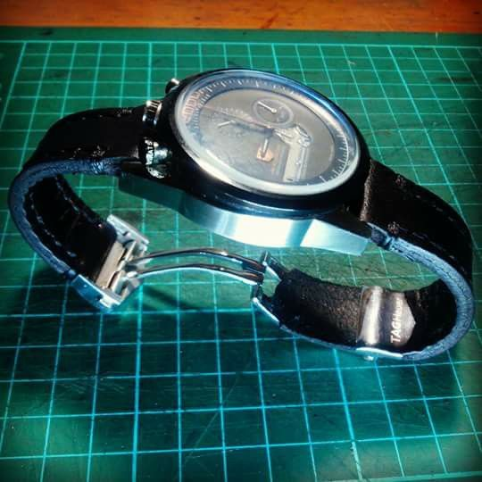 Tag heuer 2000 leather strap