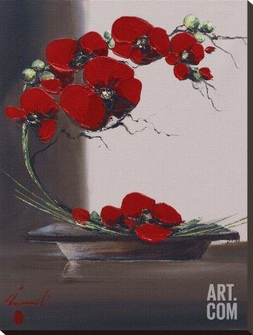 Art.fr - Tableau sur toile 'Panache D'Orchidées I' par Olivier Tramoni