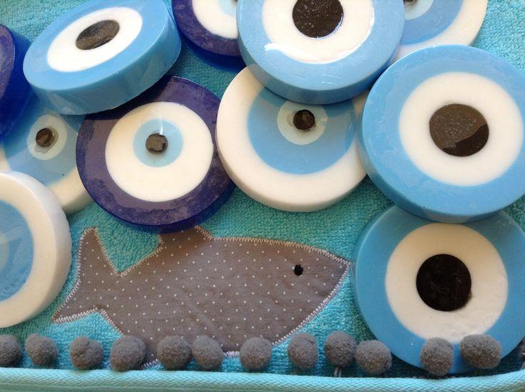 evil eye soaps!!!