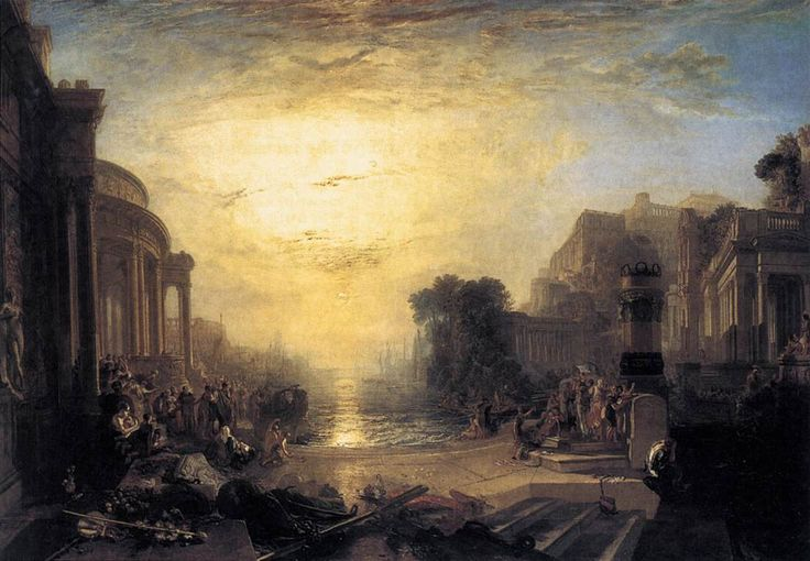 The Decline of the Carthaginian Empire  Joseph Mallord William Turner  [1775.4.23 ~ 1851.12.19]