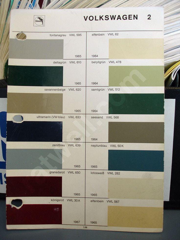 B Passat Paint Codes