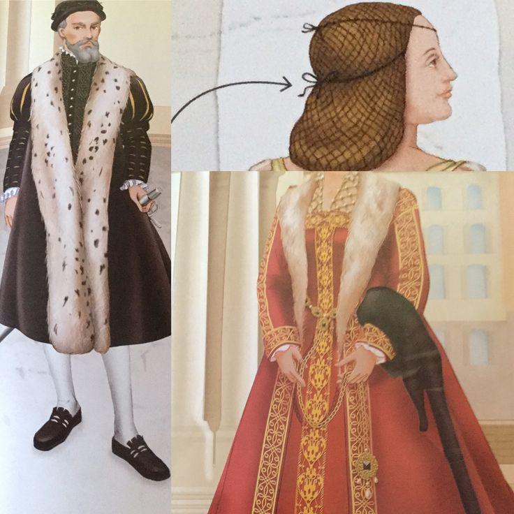 Tudor Fashion by Usborne