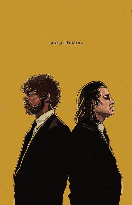 pulp fiction minimalist - Buscar con Google