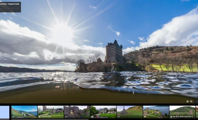 Search for Loch Ness Monster with Goole Maps - Explore the surface and dive underwater of Loch Ness. Take in its haunting beauty and let the tricks of the light, and drifting logs bring the legend of Nessie to life!  #lochness #monster #googlemaps #threethings #TheMorningShow #887thebridge #netDE