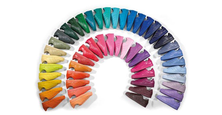 "• adidas Originals by Pharrell Williams Superstar ""Supercolor"" Pack"