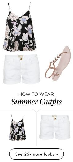 """""""Summer outfit"""" by ellastuckey on Polyvore featuring Ally Fashion, Current/Elliott and IPANEMA"""