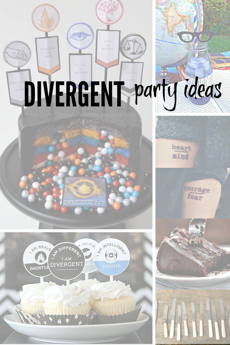 Divergent Party Ideas for Tween Birthday Party