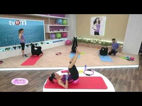 Ebru Şallı İle Pilates Egzersizleri 27.Bölüm - YouTube