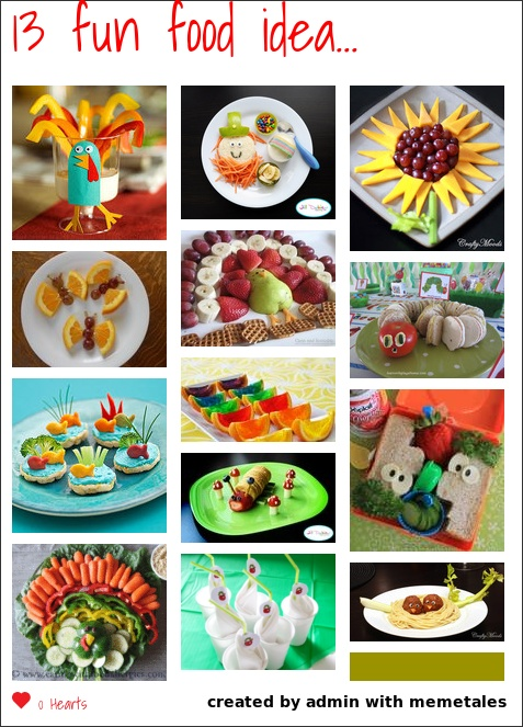 making food fun for kids a great collective of ideas the girls would get a kick out of helping to make some of these