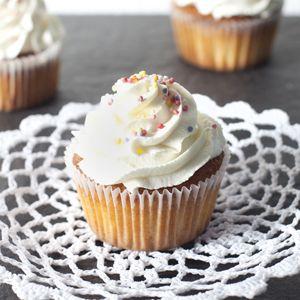 Recept - Vanille-cupcakes - Allerhande
