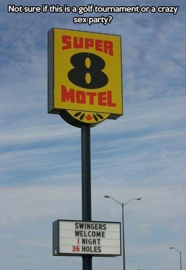 Secret motel hotel swingers parties