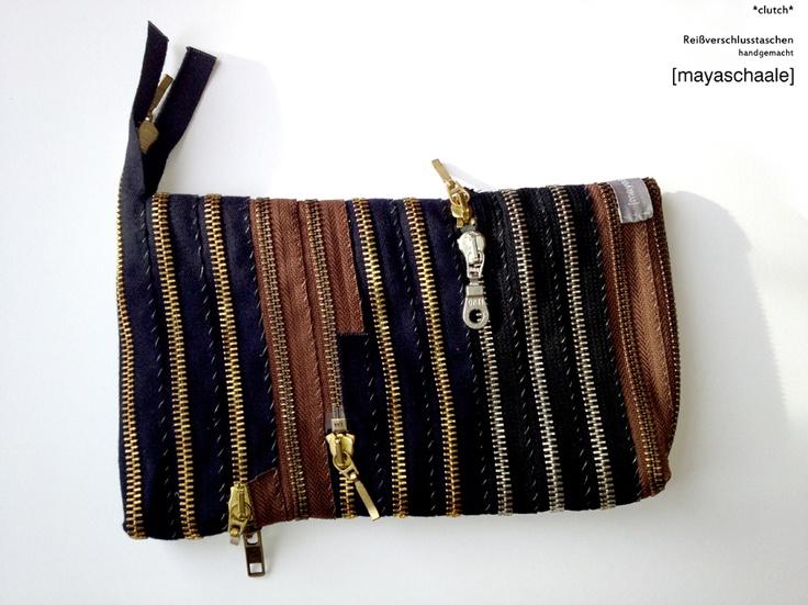 [mayaschaale] zipper bag *clutch*