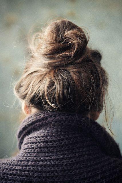 loose top knot