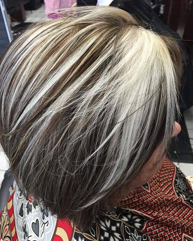 Laura Hernandez @lavishhair_laura Silver highlights...Instagram photo | Websta (Webstagram)