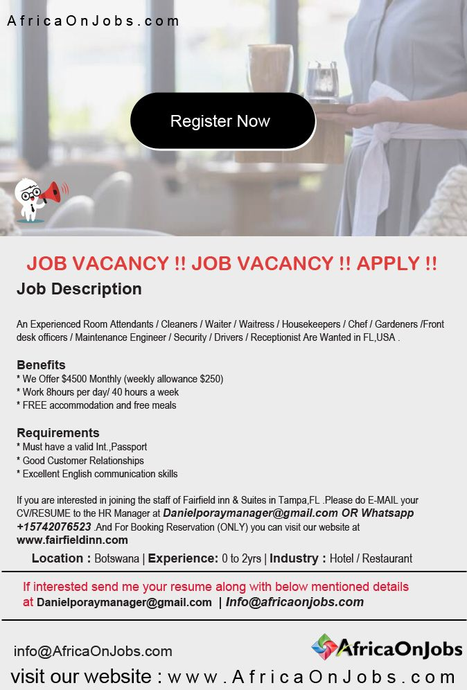 Jobs In Botswana Career In Botswana Vacancy In Botswana
