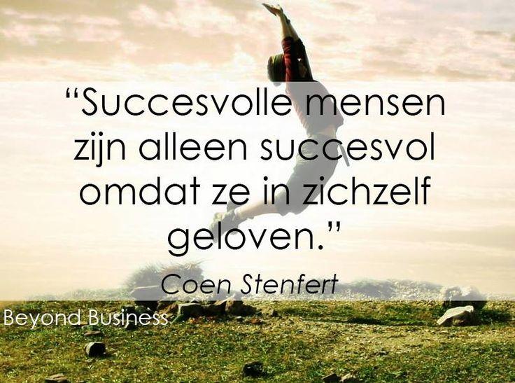 Succesvolle mensen ...