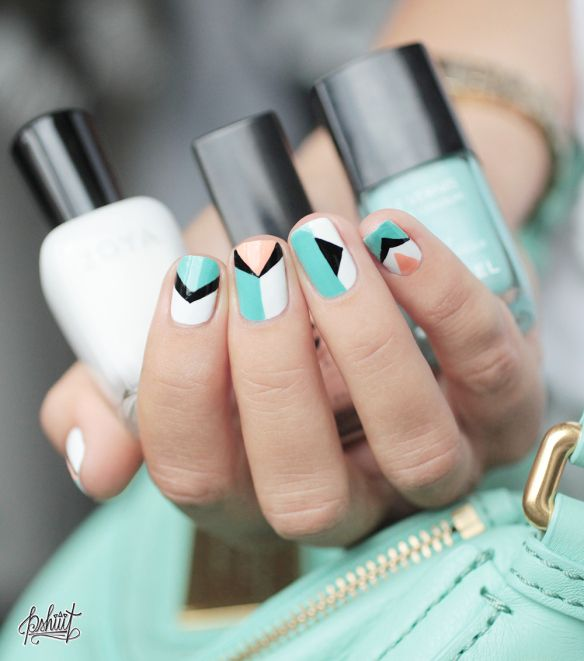 Nailart inspiration  Marc by Marc Jacobs