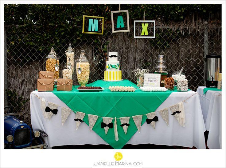Food table decoration