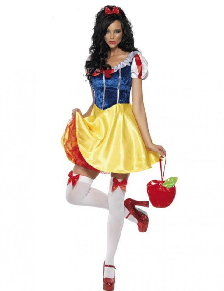 Adult Snow White Costume Cosplay Fantasia Halloween Costumes For Women Princess Dress Fancy Party Dress-in Clothing from Novelty & Special Use on Aliexpress.com | Alibaba Group