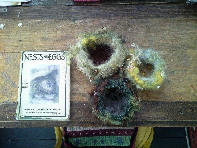 Woolly nests by bodkin