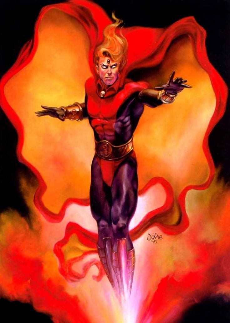 Adam Warlock by Julie Bell