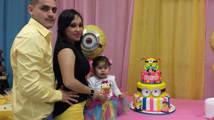 pink minions Birthday Party Ideas   Photo 4 of 15