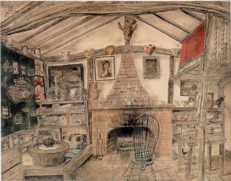 《我が画室》1936年 平野政吉美術館