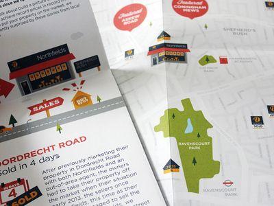Sneak peak of the first (of 5) London map & illustration DM
