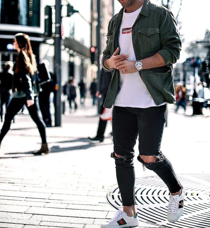 Rate this look 1-10 Follow @mensfashion_guide for more! By @kosta_williams #mensfashion_guide #mensguides