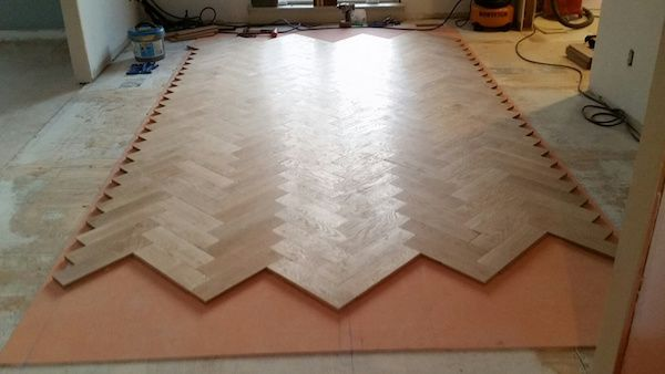 How-To: A Herringbone Floor, Part 3 (Starting Installation)