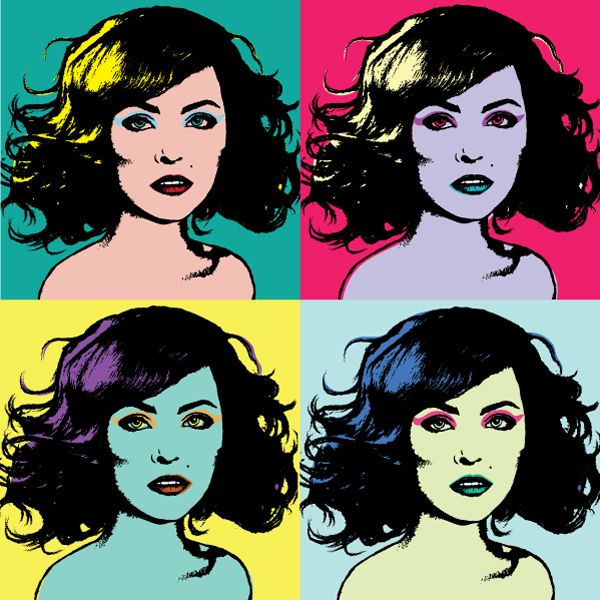 How to Create an Andy Warhol Inspired Pop Art Portrait in Illustrator - Tuts+ Design & Illustration Tutorial