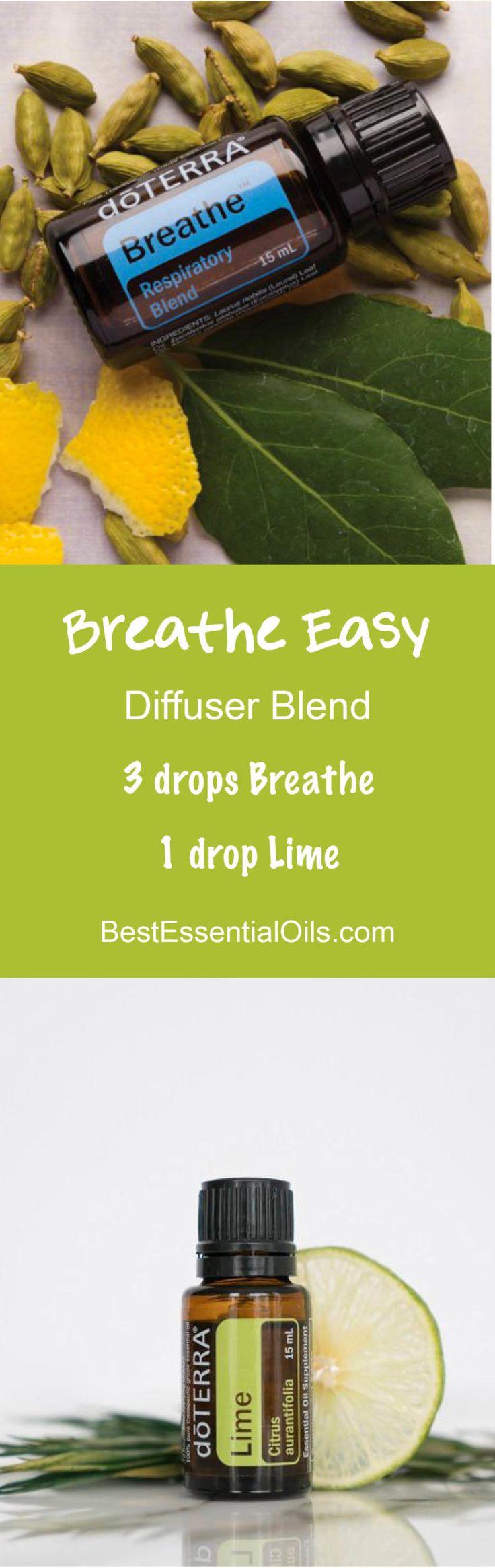 Breathe Easy doTERRA Diffuser Blend