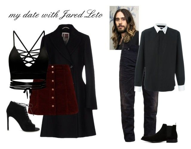 """my date with Jared Leto"" by bbriii on Polyvore featuring I'm Isola Marras, Yves Saint Laurent, Snake & Dagger, Givenchy and ALDO"
