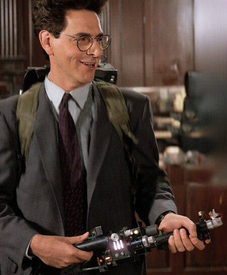 Harold Ramis in Ghostbusters II 1989