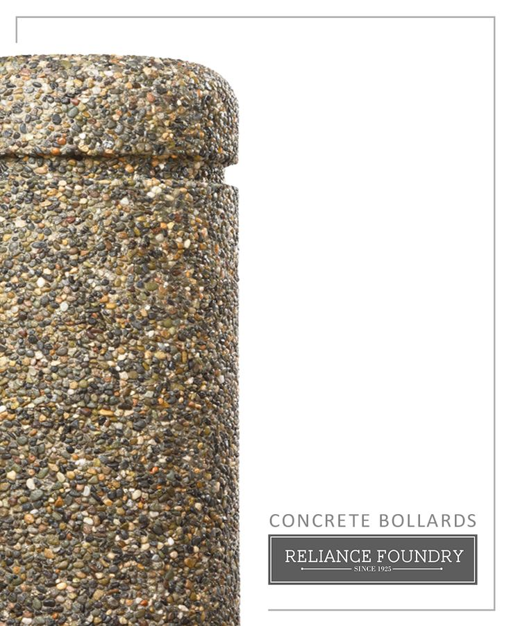 [Product Feature] Concrete bollards are simple to install, highly impact resistant, and attractive. Select from different styles to suit your landscape.
