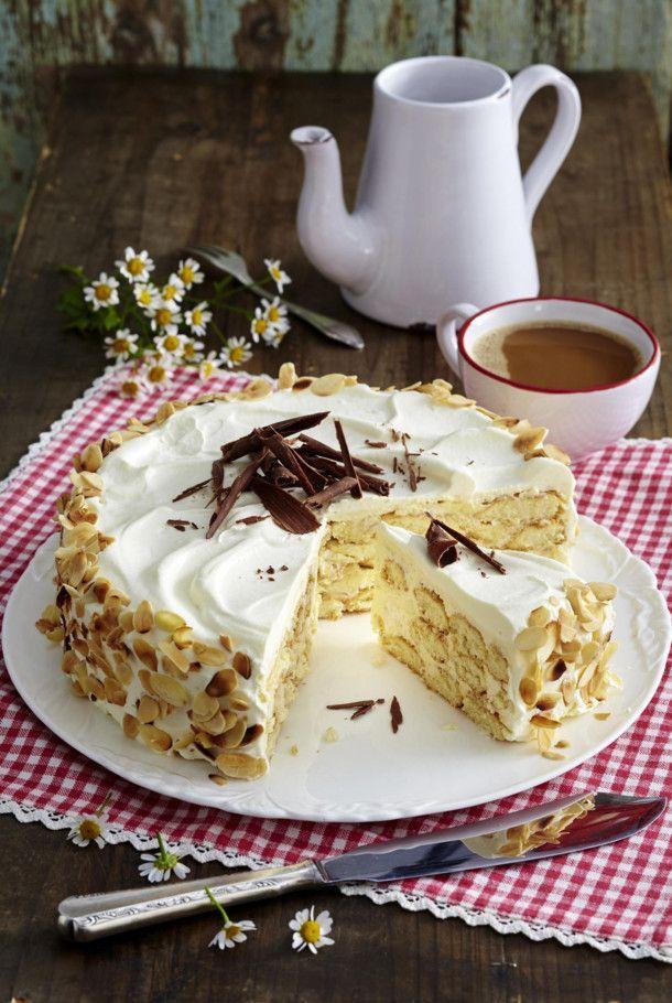 Unser beliebtes Rezept für Malakoff-Torte und mehr als 55.000 weitere kostenlose…