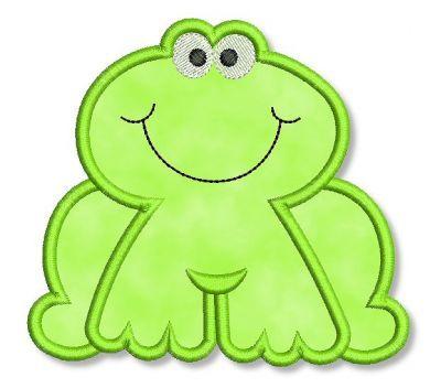Applique Dish Towel Patterns | Free Frog Applique | How to Applique