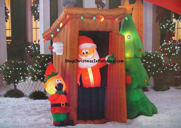 Animated Christmas Inflatables