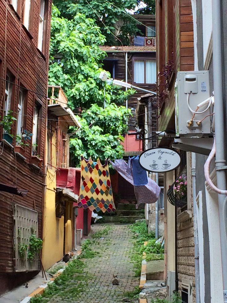Close to Orhan Pamuks museum, Cihangir, Beyoglu, Istanbul.