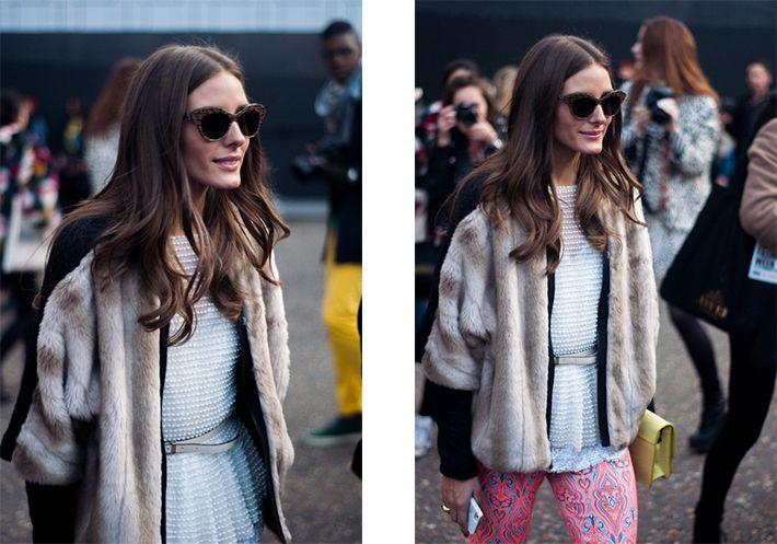 Olivia Palermo  London Fashion Week  S/S 2013