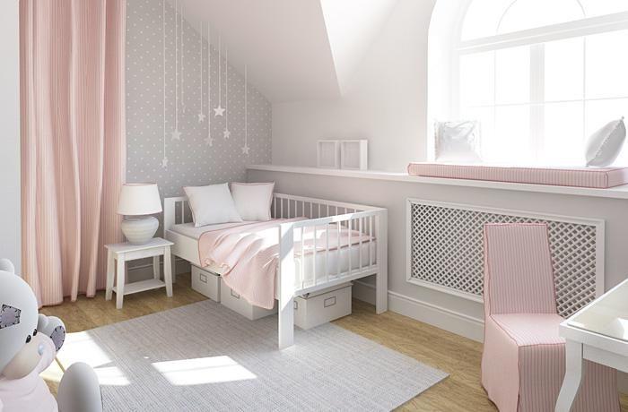 Дизайн интерьера спальни маленькой принцессы