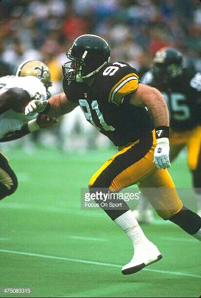 Kevin Greene, 3rd all time sack leader with (160)